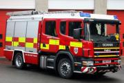 Firefighters tackling blaze at Bury landfill site